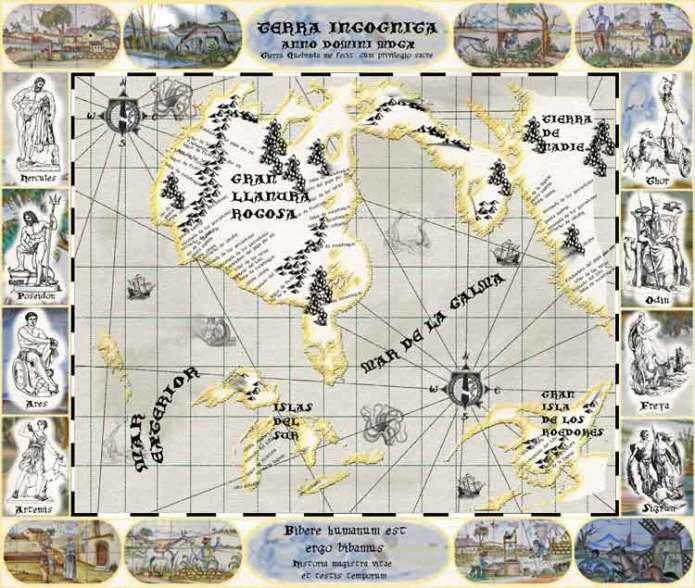 Mapa del siglo XVII