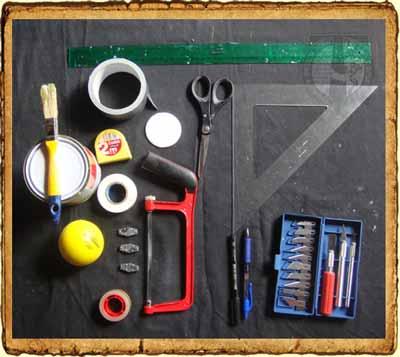 Herramientas para fabricar espada de Softcombat