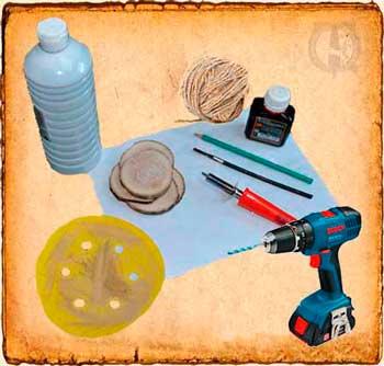 Materiales necesarios para un colgante vikingo - Tutoriales DIY