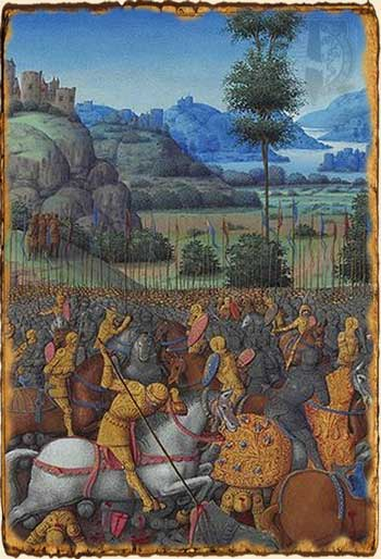 Relatos de Fantasía - Batalla de los cinco ejércitos