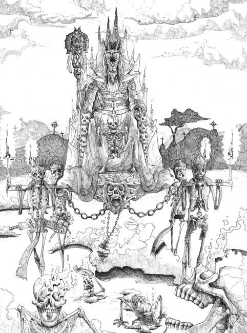 Enter the Necromancer por Álvaro Peñalver