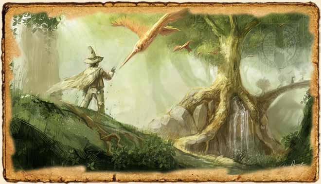 Mundos de fantasía por David Revoy