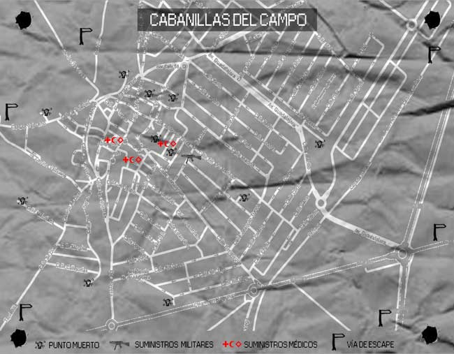 Mapa Survival Zombie Cabanillas