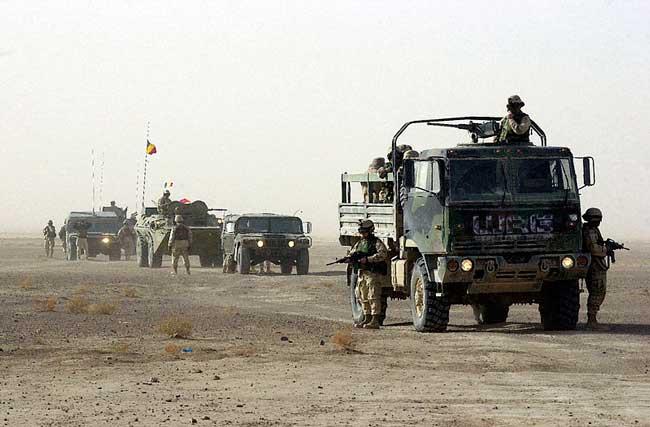 Survival Zombie - Convoy Militar