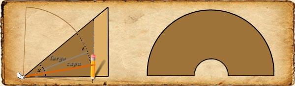 Patrón capa medieval