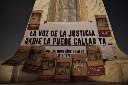 Recordando el 16 de noviembre de 1989 en la Universidad(Foto El Faro-V. Peña)