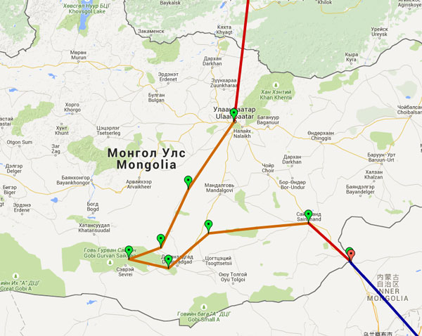 ruta mongolia transmongoliano