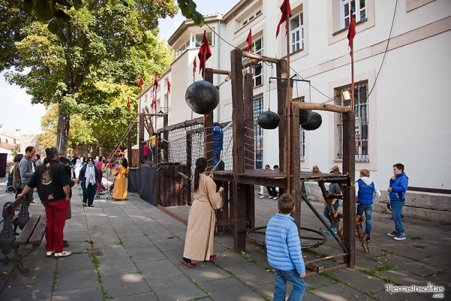rincón infantíl mercado medieval de vitoria-gasteiz