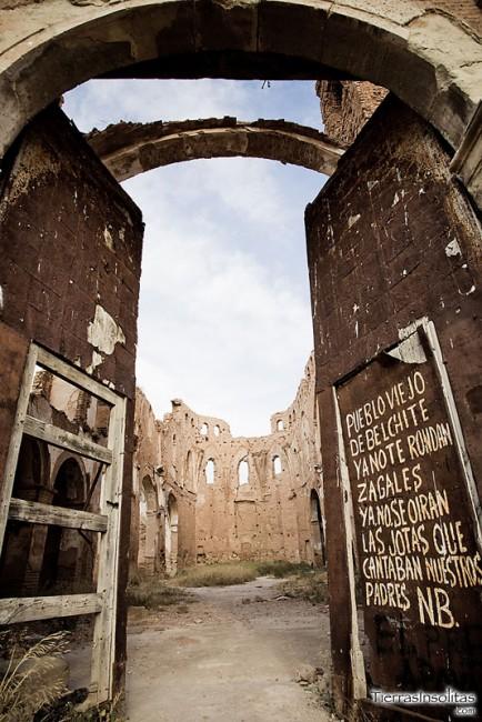 pueblo fantasma de belchite