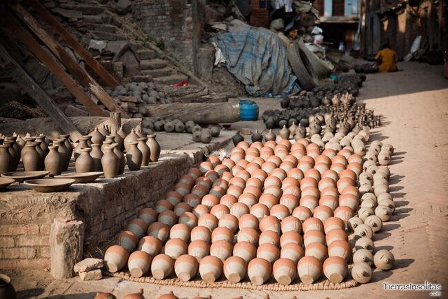 alfareros en bhaktapur
