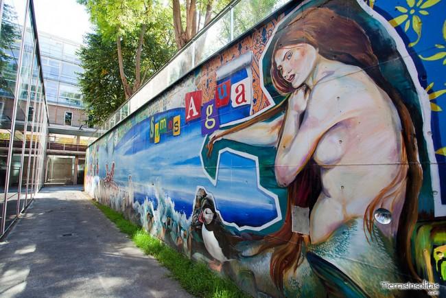 somos agua somos arte murales vitoria-gasteiz