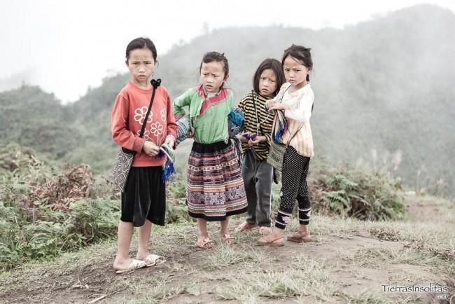 niños vendedores sapa