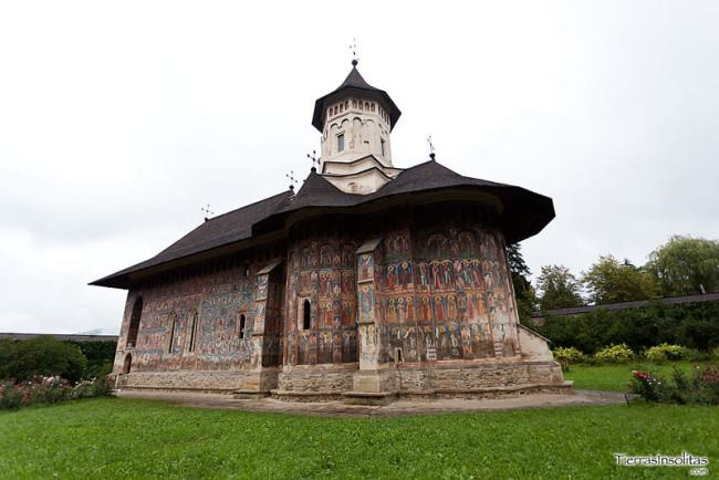 monasterio Moldovița
