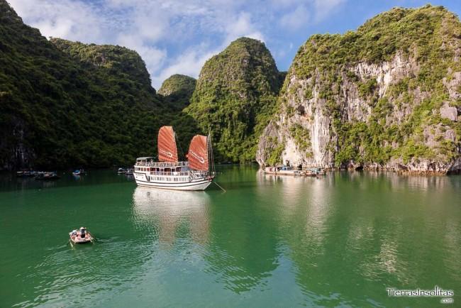 visitar la bahía de halong