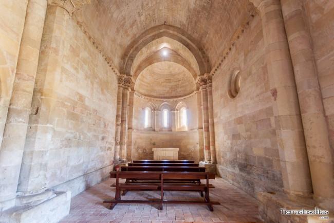 interior ermita de la purísima concepción