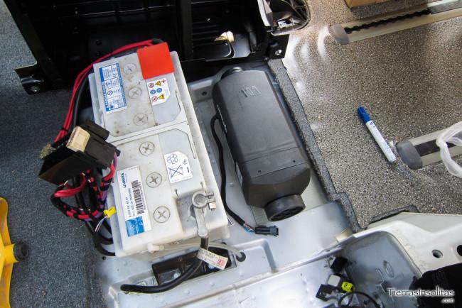 instalación calefacción estacionaria