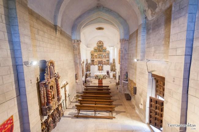interior iglesia de san juan bautista