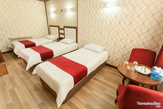 hotel alborz en qazvin