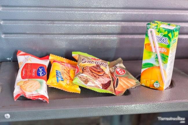 comida autobús VIP