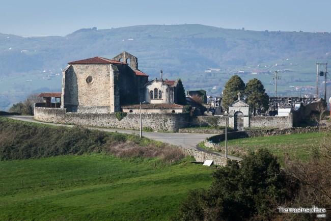 iglesia san andrés de biañez