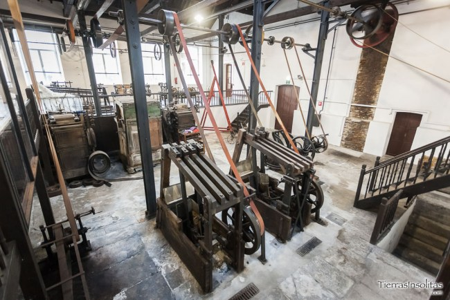 sistema poleas museo encartada enkarterri bizkaia