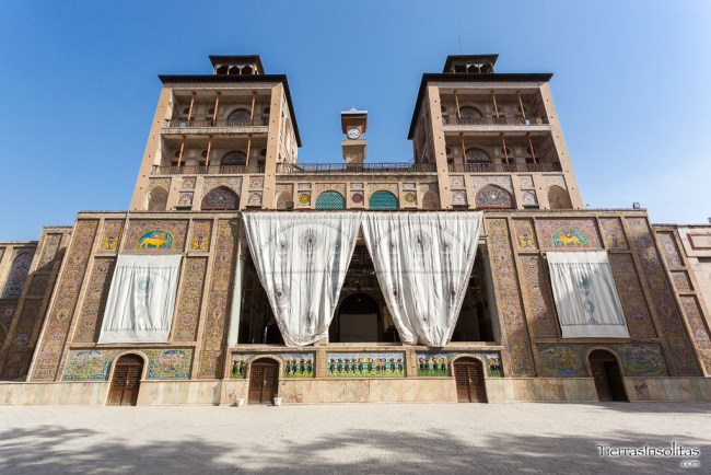 palacio golestan teherán
