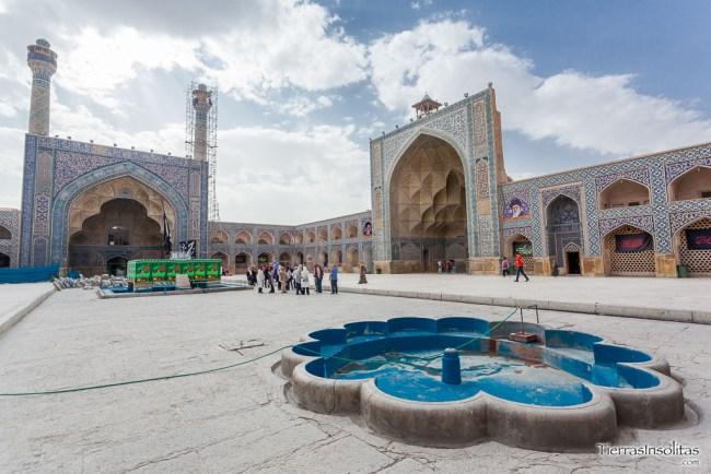 patio interior mezquita masjed-e jameh