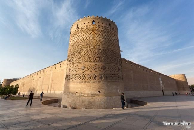 fortaleza karim jan shiraz irán