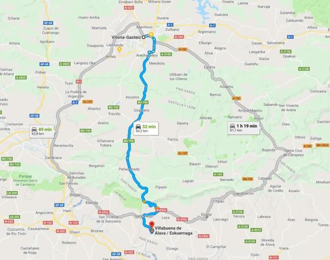 ruta treviño-puerto herrera-rioja alavesa