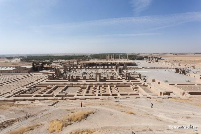 panorámica de persépolis