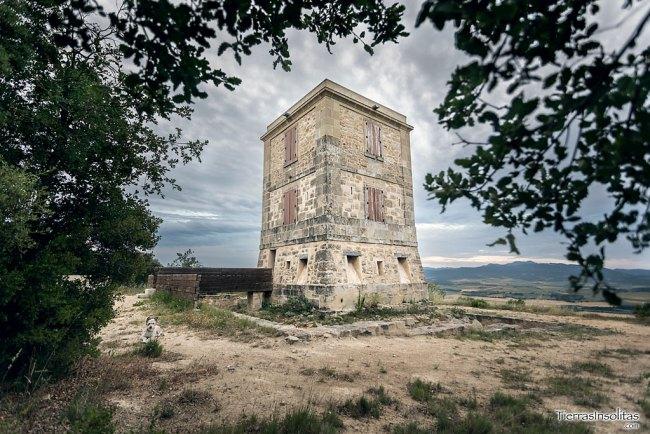 telégrafos ópticos en álava torre de quintanilla