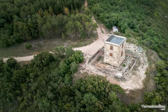 torre telegráfica de quintanilla de la ribera álava