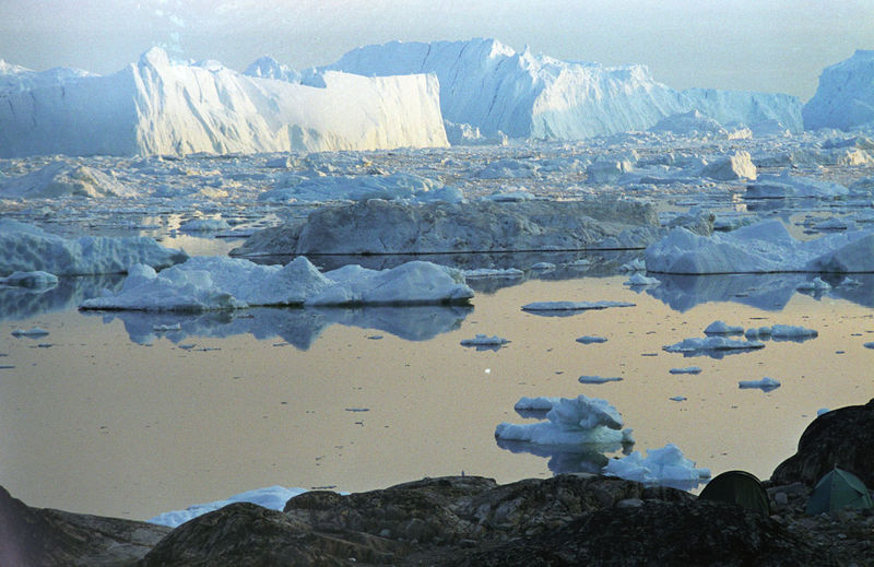 Cercanías de Ilulissat, de donde parte la expedición.