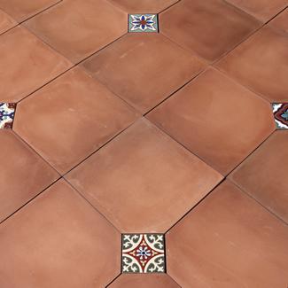 handcrafted floor tiles