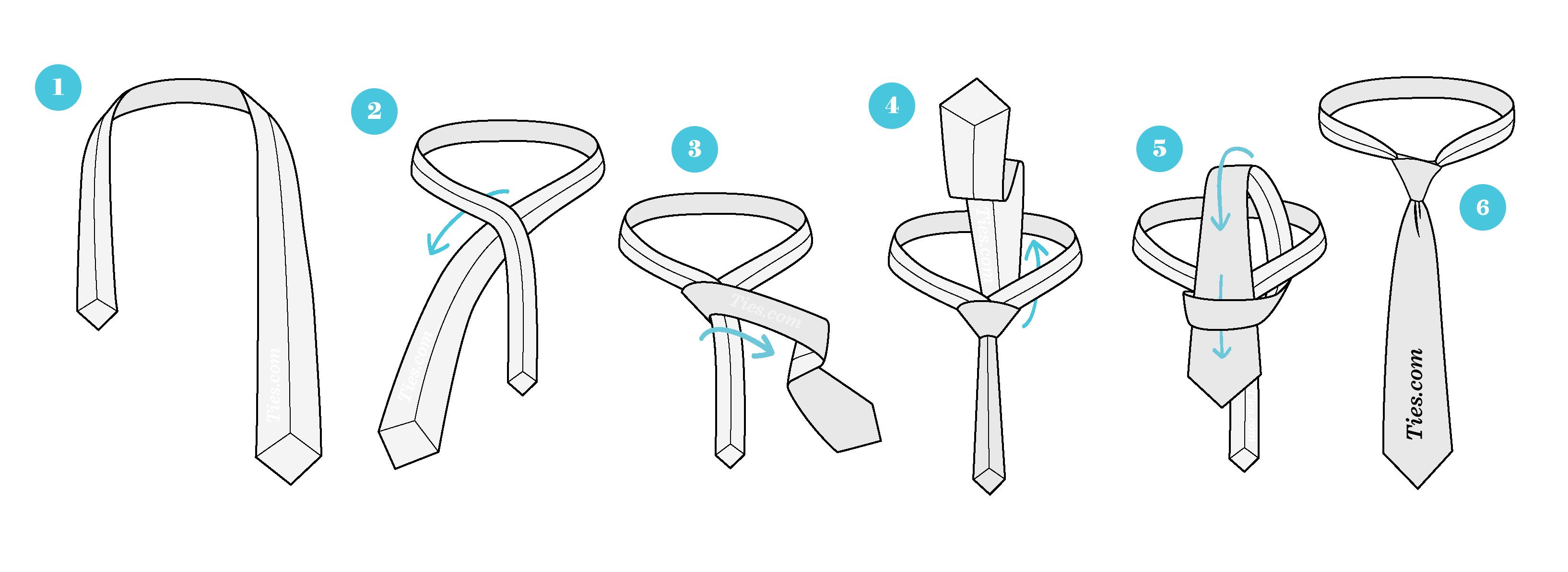 cómo amarrar una corbata