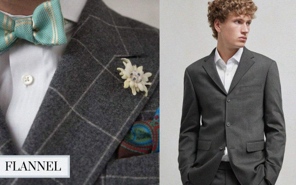 winter suit flannel suit
