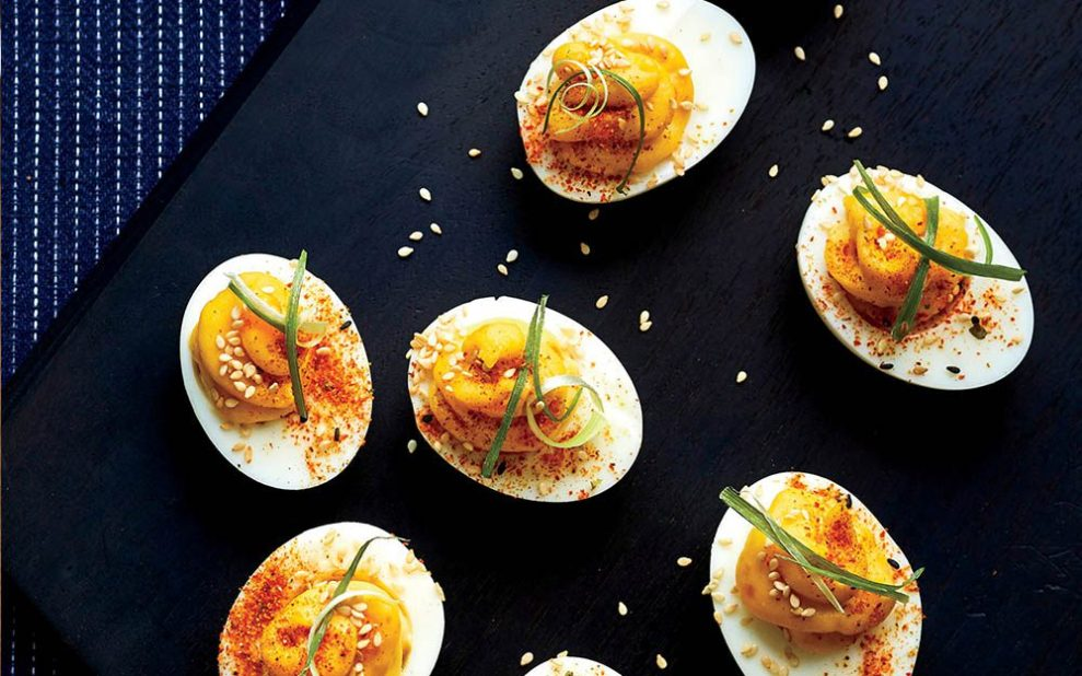 Easy Appetizers Deviled Eggs