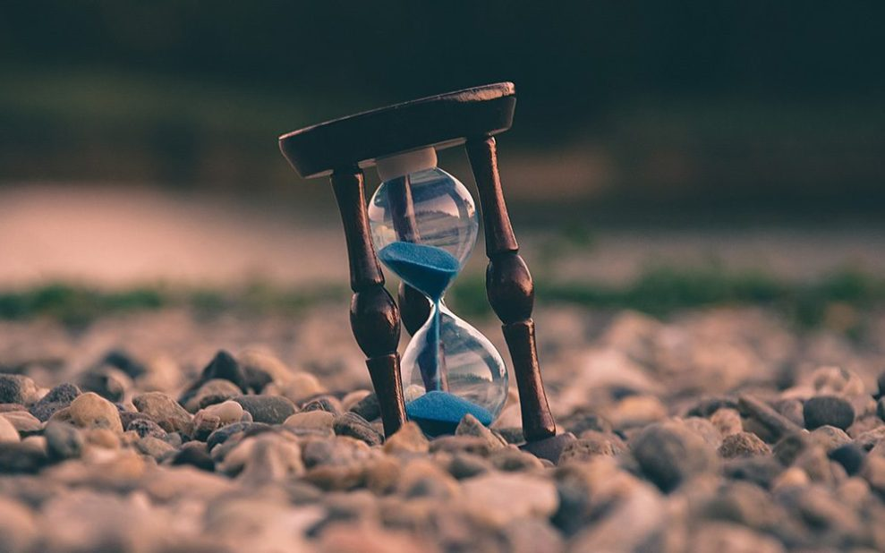 acceptance and time dealing with anxiety
