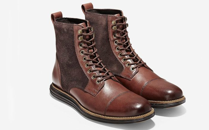 men's boots cap toe boot