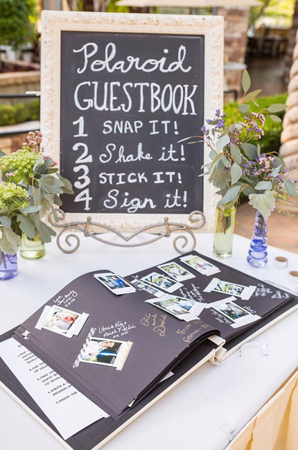 Das Polaroid-Gästebuch