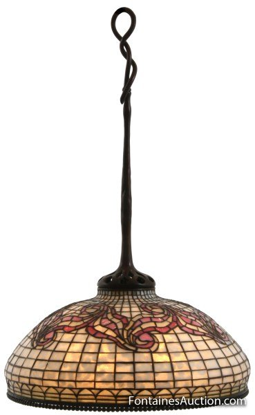 18 in. Tiffany Tyler Hanging Lamp
