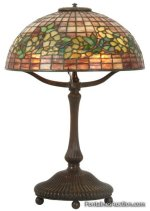 54 - Tiffany Dogwood table lamp