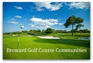 Broward Golf Course Homes