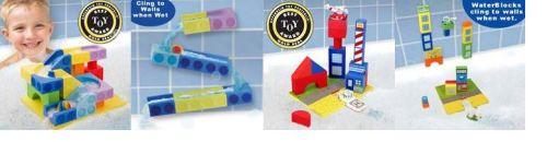 Bath Block Toys