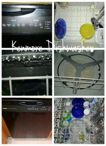 Kenmore Dishwasher w/ Sanitize and precision wash