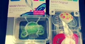 MAM Baby Review & Giveaway