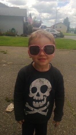 My 3 year old took my stunnas