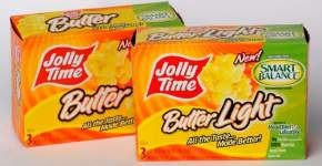 JOLLY TIME: Smart Balance Popcorn Review