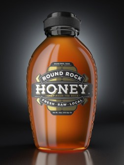 Rcok Hard Honey