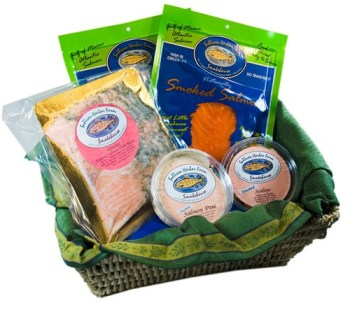Downeast Smoked Salmon Sampler